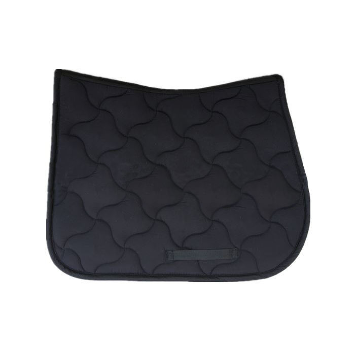 Equestrian quilted cotton horse saddle pad