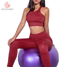 Women sportswear Premium Yoga Clothes Active Fitness & Yoga Wear 2 Piece Set Women