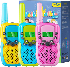 Kids Walkie Talkie Two Ways Radio Toy Walkie Talkie for Kids 3 Miles Range 22 Channels Built in Flash Light