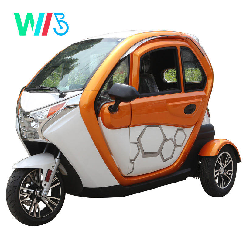 2020 New Arrival 1200w 3 Wheel Electric Car 2 Seats Electric
