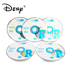 DENY manufacture 16X 4.7G blank dvd+r disc with 16x