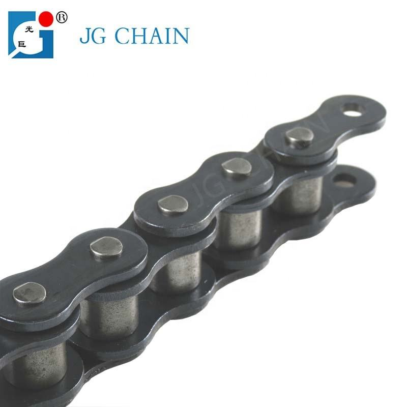 Factory direct sales 10A professional manufacturer alloy steel transmission roller chain size 50 ,made in china