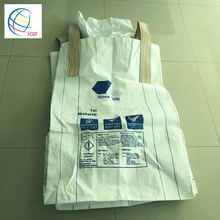 China Manufacturer Sale Virgin PP Super Sack Big Ton Bulk Woven Packaging Jumbo Bag 1Ton for Container