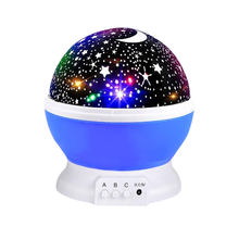 Amazon Sensor Kids 3d Usb 360 Degree Rotating  Rechargeable Dream Rotating Star Sky Led Projection Light Led Projection Lamp