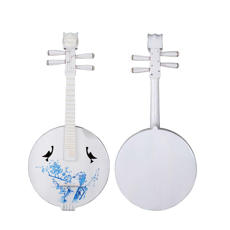 Chinese National Musical Instruments direct deal Blue and White Porcelain Zhongruan