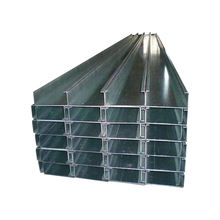 Hot dip galvanized C steel profile c channel for construction project