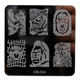 ##CB01-CB30 Hot Cartoon Nail Art Image Stamp Stamping Plates Stainless Steel Polish Printing Stencil DIY Beauty Manicure Tools