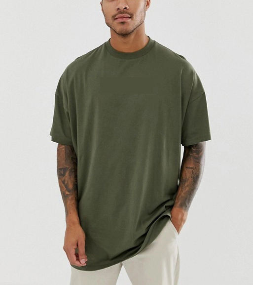 plus size t-shirts wholesale / custom blank mens 100% cotton oversized tshirt