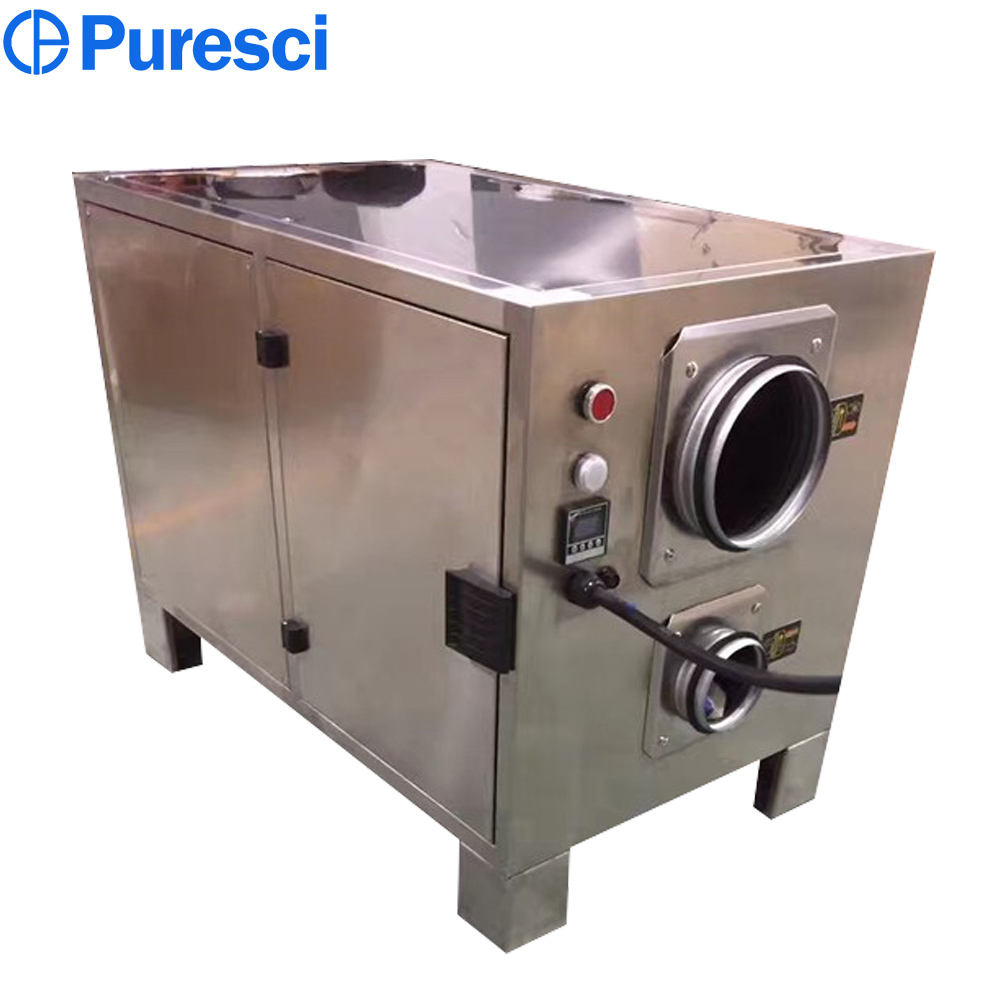 moisture removing machine desiccant wheel dehumidifier for food industry use