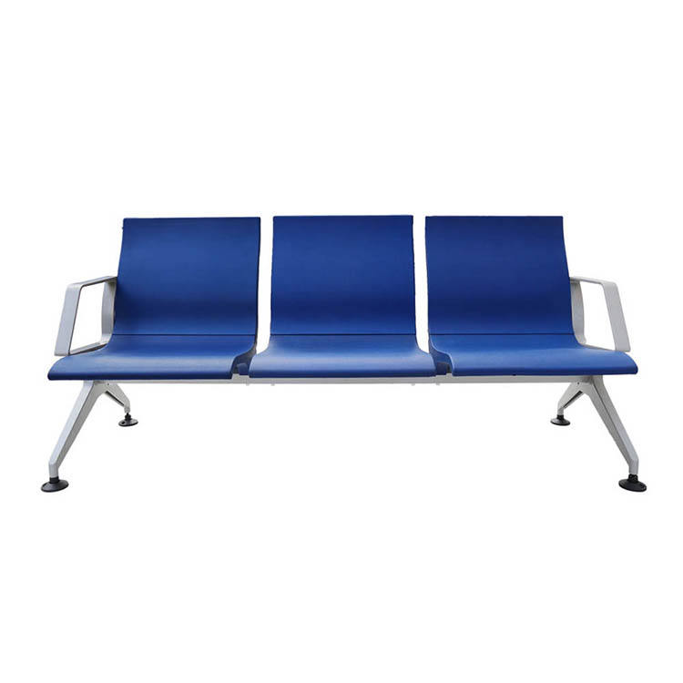 Comfortable Aluminum Bench Seat Airport Waiting Room Seating