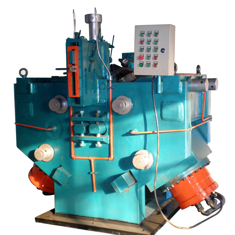 High efficiency Screw flight cold rolling machine helical blade making machine