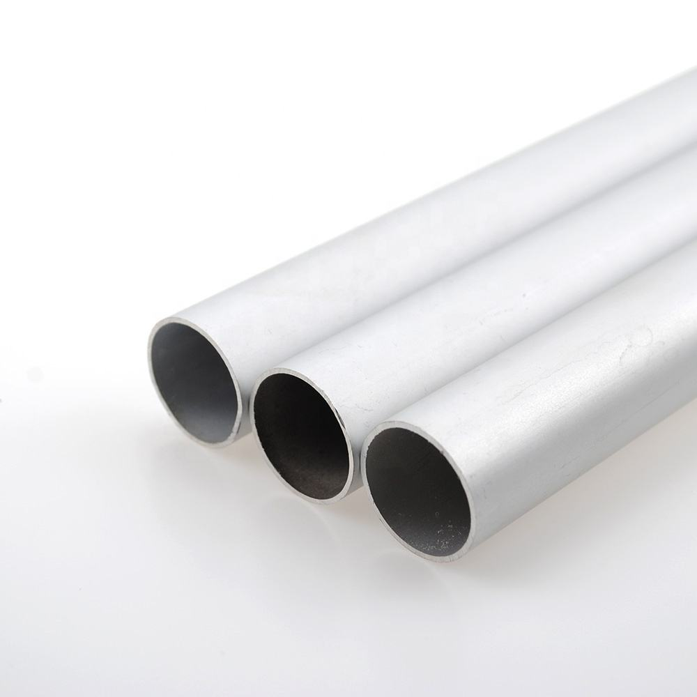 Supplier sale high quality 6063-t5 anodized pipe aluminum extrusion round tube profile