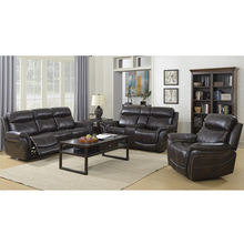 Good price full leather sofa sectionals two seater recliner