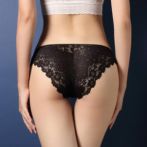 M to XXL hot sexy low waist erotic lacy underwear panties for ladies