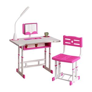 2020 Wholesale 3-to 10-year-old children learning desk kindergarten school can be raised children writing desk chair sets