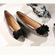 Ladies Flats Shoe Flats Women Fashion Bow Style Women Shoes Low Price Comfortable Arch-support High Quality Ladies Flats