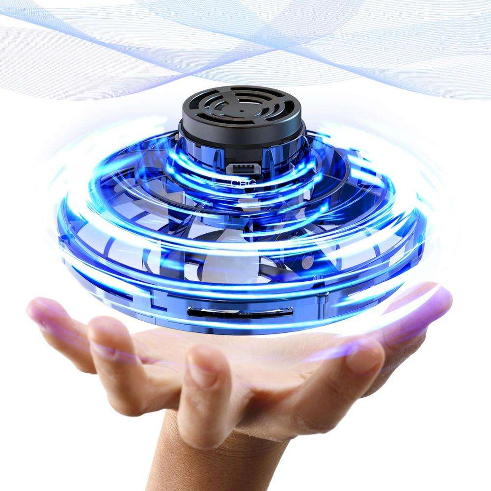 2020 Amazon Popular Sell Flying Spinner Toy Christmas Gift For Kids And Adults Shinning LED Lights Flynova