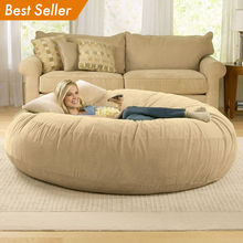 One Stop Solutions 3 4 5 6 7 8ft xl large comfortable relax lazy cooljumbo living room lounger chaise  giant bean bag sofa chair
