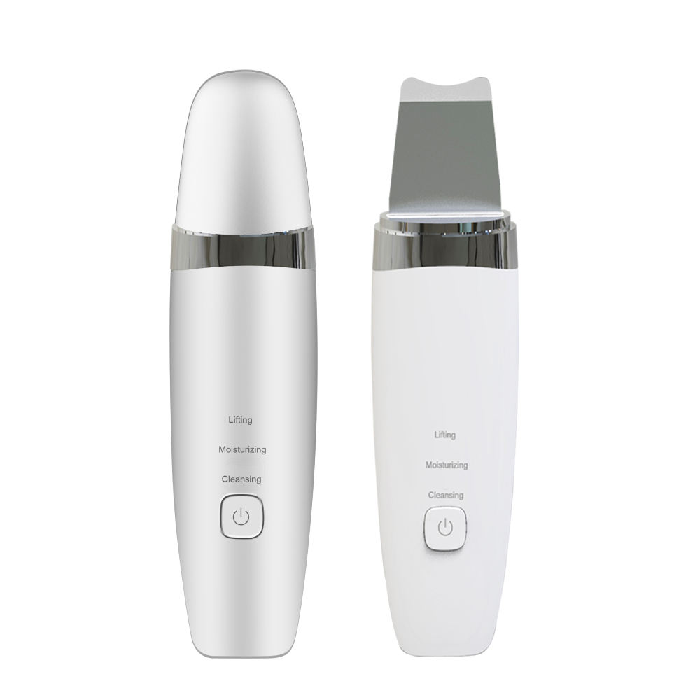Wireless Rechargeable Clean Skin Care Device Ultrasonic Skin Scrubber