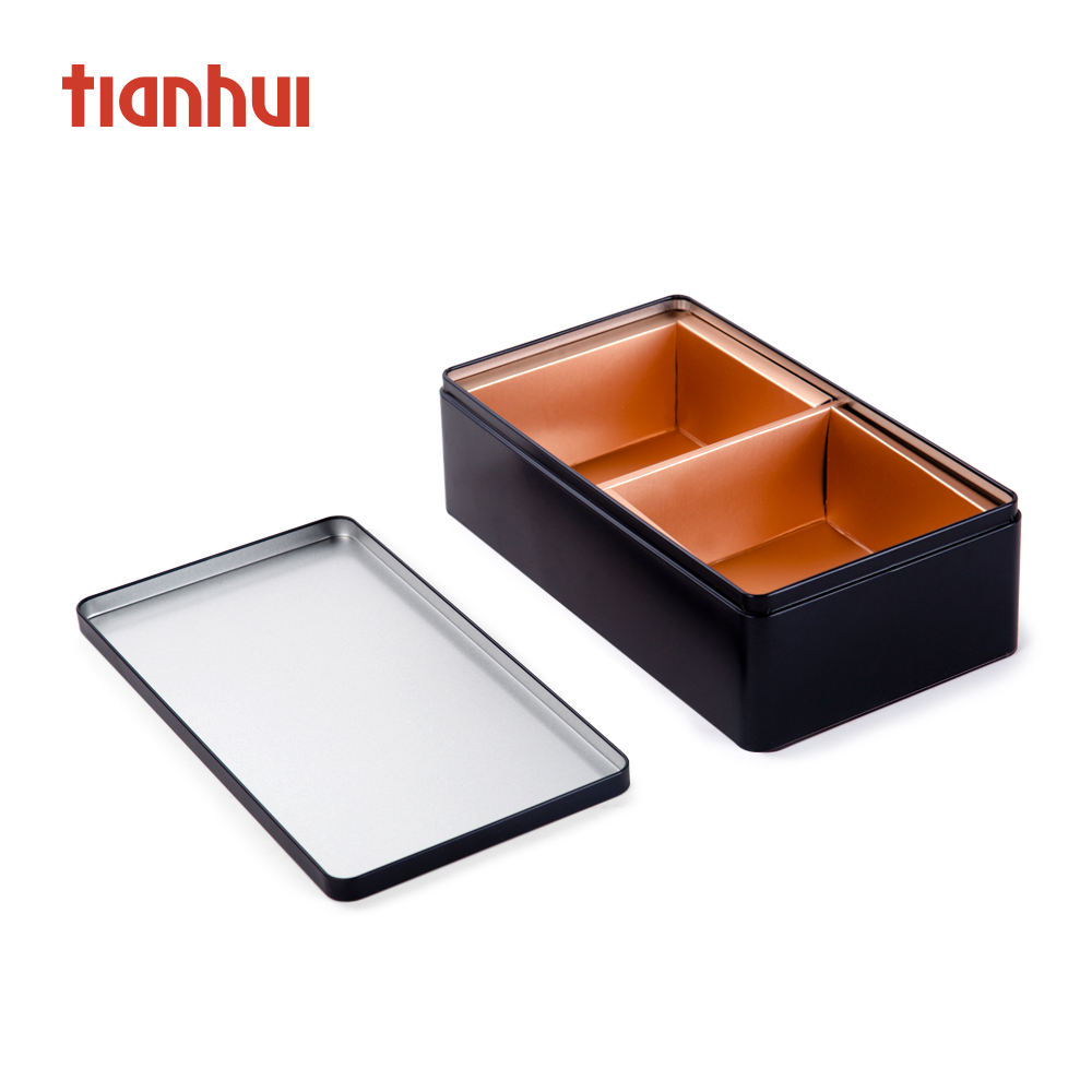 Environmental Candy Foodsafe Metal Box Customized Tin Box Tea Storage Condom Container
