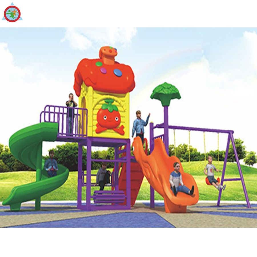China jinmiqi Play Cheap LLDPE Plastic Kids Outdoor Park Playground