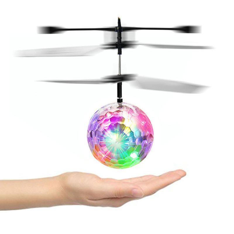 Sensor infrarood motion control Rc Speelgoed Mini Led Vliegende Bal Helicopter