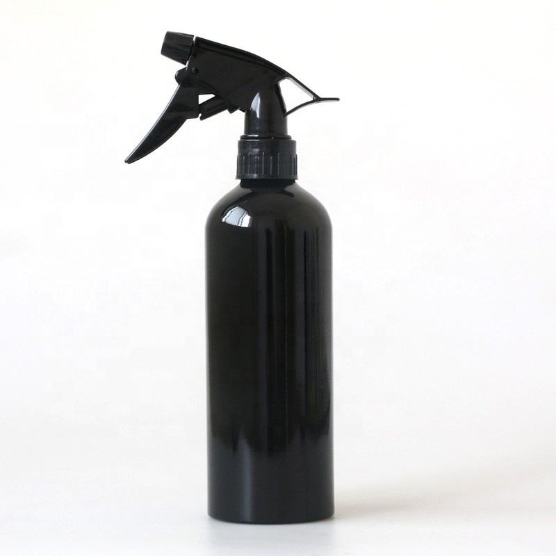 black metal bottle 500ml aluminum spray bottle in stock