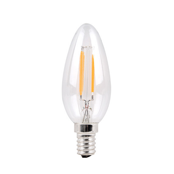 vintage Led bulp brightness bombillas led china clear frosted golden glass ampoule e14 led candle bulb led inverter bulb