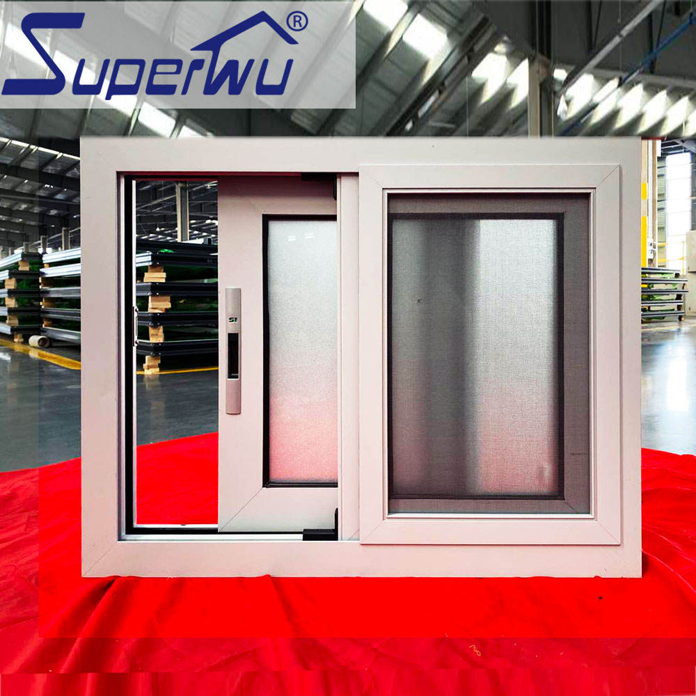 2020 latest design double glazed small slide aluminum windows