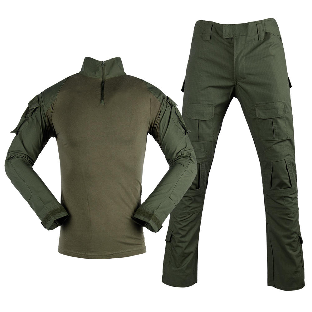 Military Clothing G2 Army Green Tactical Frog Suit Wholesale
