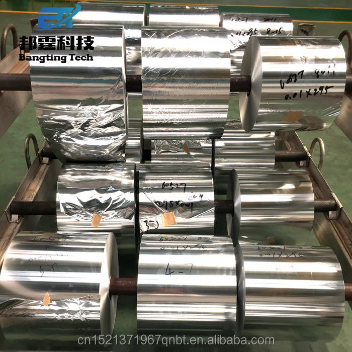 Food packaging aluminum foil roll jumbo in egypt battery grade aluminium