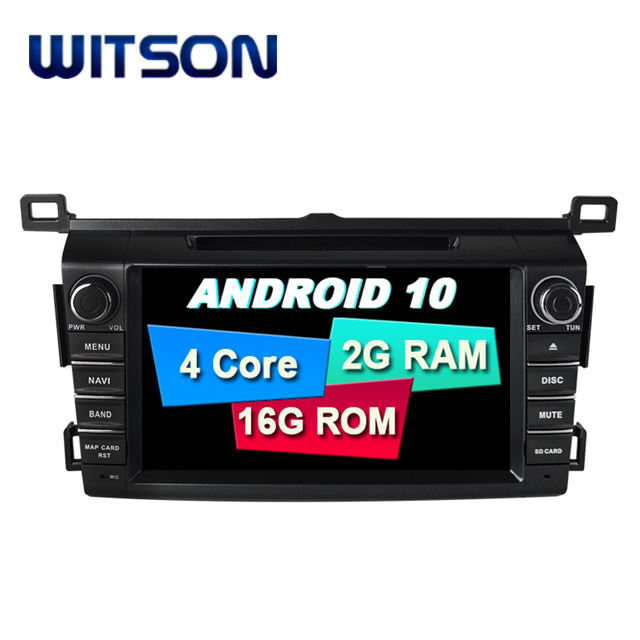 WITSON 7 pollici Android 10.0 Lettore Audio Dell'automobile Per TOYOTA RAV4 2014 Car Multimedia System