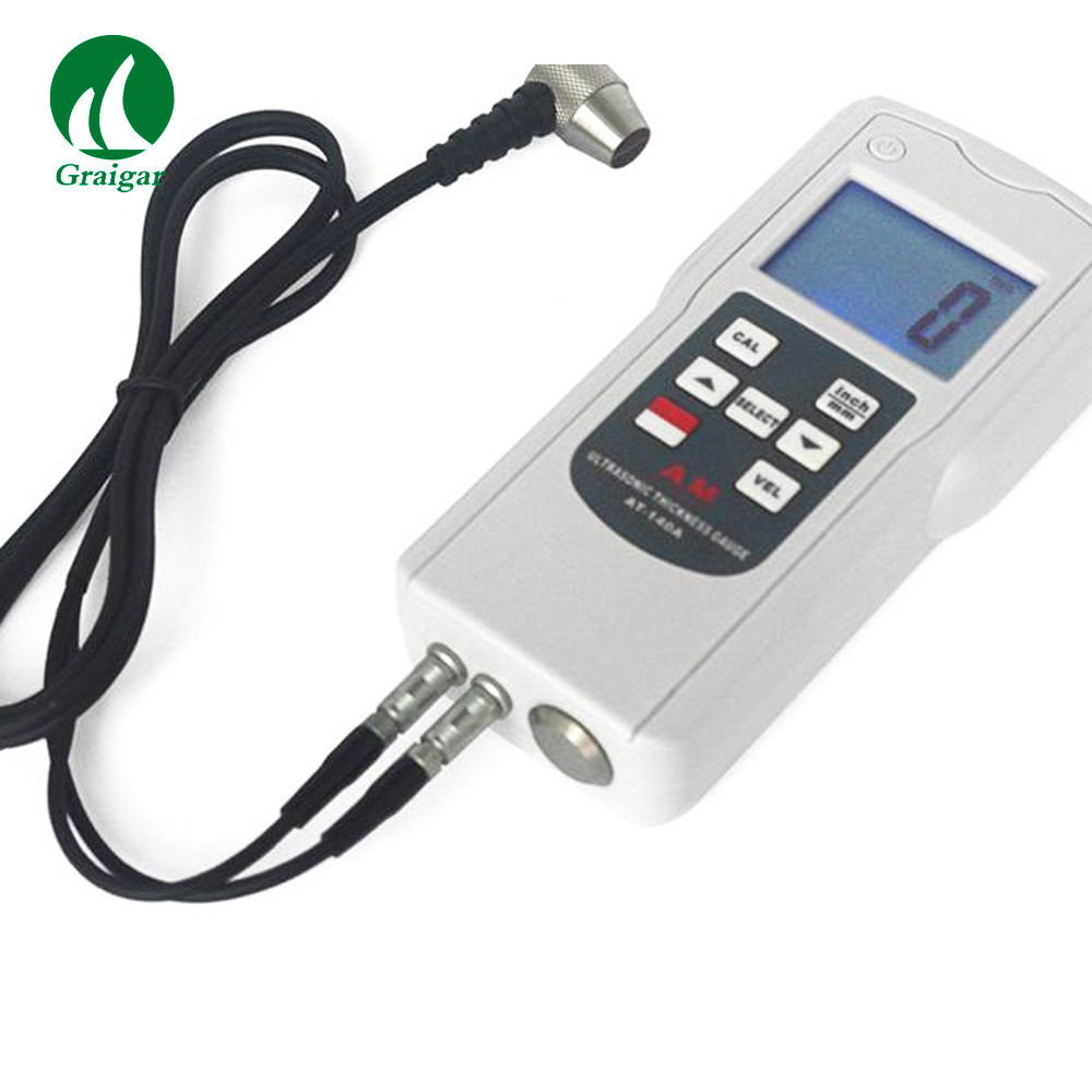 Ultrasonic Thickness Gauge AT-140A measure the Thickness of Metal and Other Materials Resolution 0.1 mm