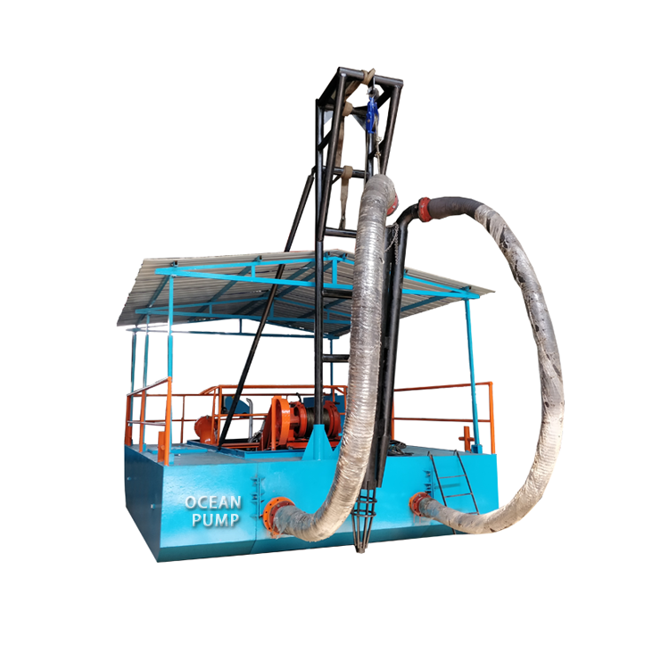 8 Inch Sand Dredger Machine for Mining Project