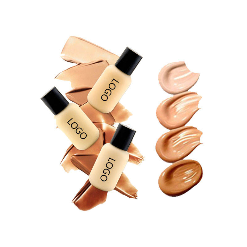 30ML10 Color Foundation Makeup Base Nude Face Liquid Cover Concealer Longlasting Makeup sombras Skin care Foundation