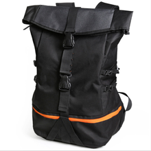 Fashion trend men's waterproof casual basketball backpacks hiking bags