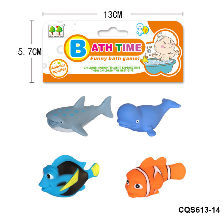 One-Stop Service [ Animals Set Toy Toys ] Bath Toy Set Sea Animals Fish Plastic Playing Set Toy Bath Toys For Kids Baby Swimming Floating Bath Toy Play Set