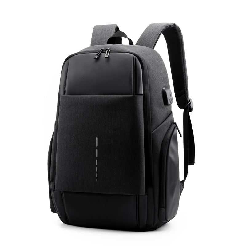 water proof business travel 17.3 inch laptop backpack custom logo with usb charger for men
