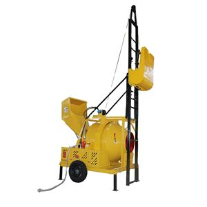 JZC350-DHL Concrete Mixing Machine With Lift Price / diesel concrete mixer Beton with lift / lifting ladder concrete mixer