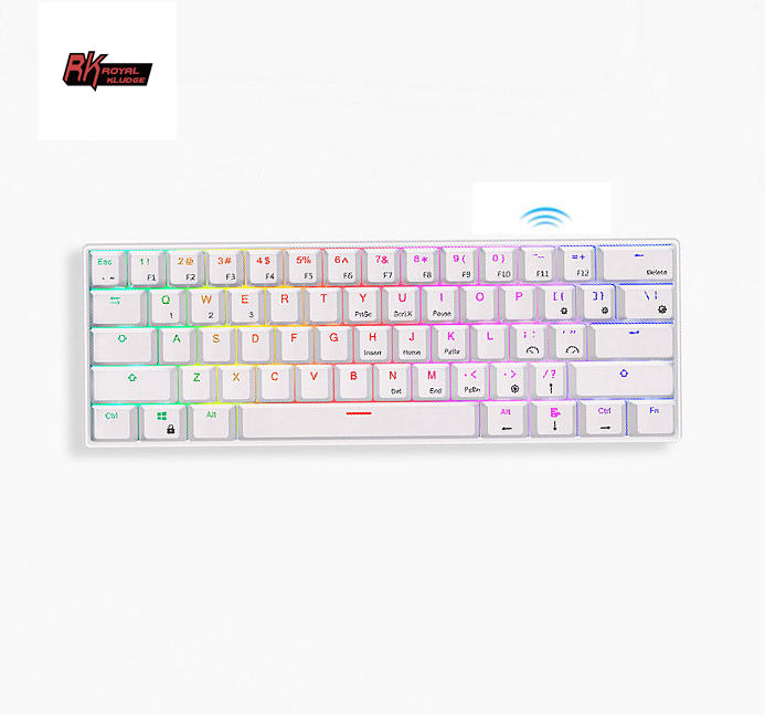 RK61 Royal Kludge RGB wireless game oem mini mechanical keyboard gaming gamers products accesories RK 61 keyboard mechanical 60