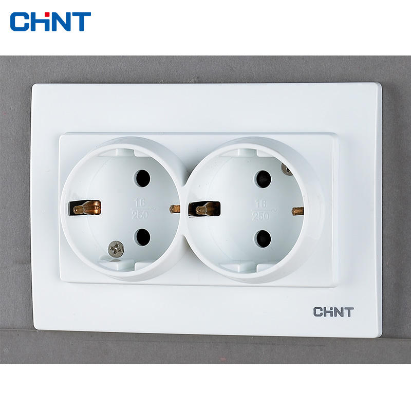 The newest chint energy meter circuit electrical wall switch and sockets