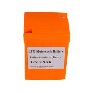 KOK POWER LTO 5S (12 V) 2.9Ah Lithium-Batterie High Power Start Batterie Für EV Eisenbahnen Boote