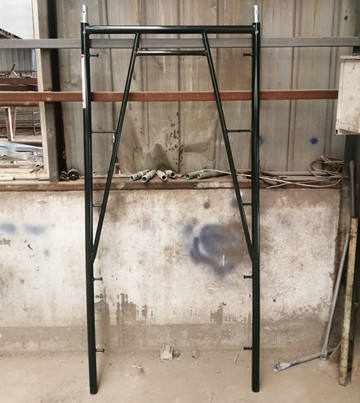3'*6'8'' snap on walk through scaffold frame for California
