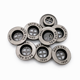 High quality Custom 4 Hole Sewing Button Debossed Garment Metal Buttons Available For Sew On Machine