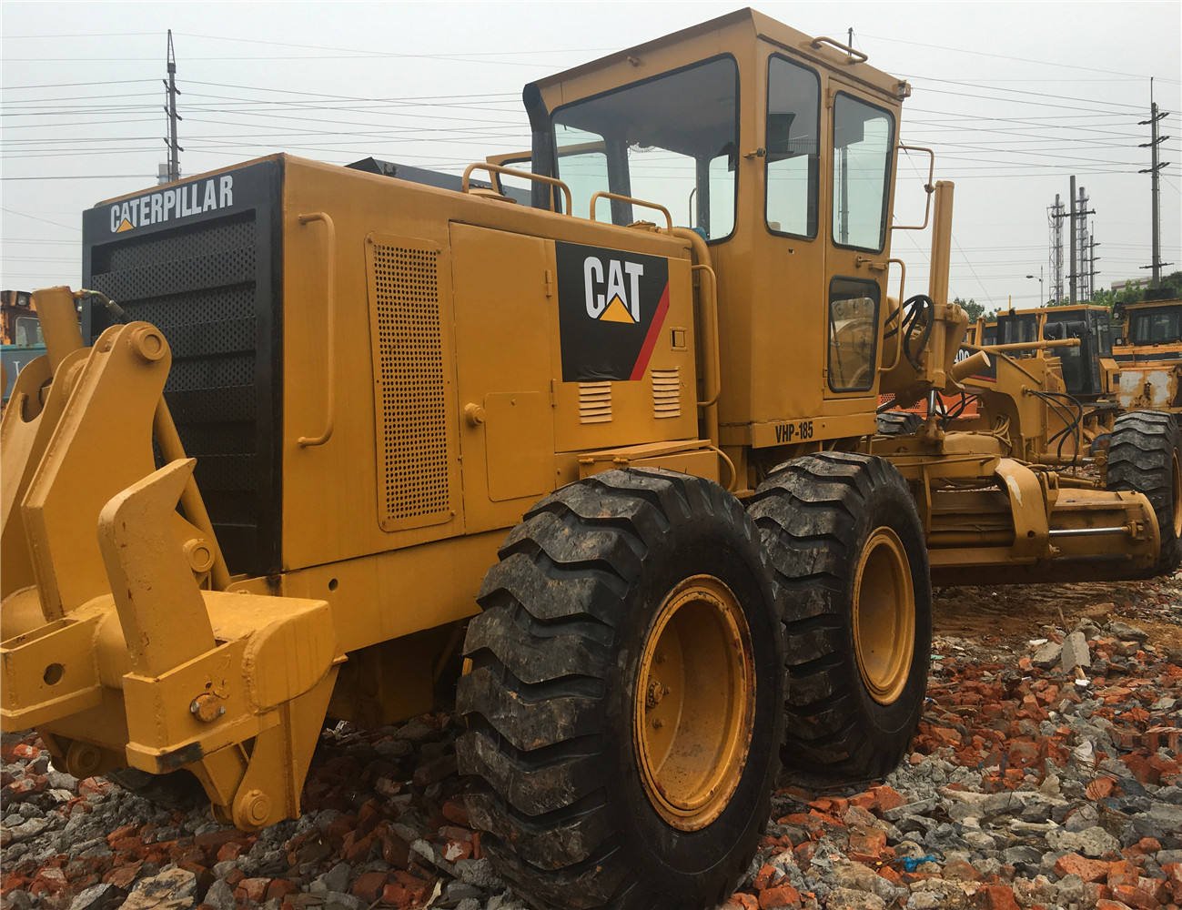 Used reprinted 140G grader made in Japan,Cat moter grader 140G,Land scraper in good working condition on promotion