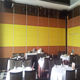 Hanging Aluminium Acoustic High Restaurant Sound Proof Folding Wooden Room Office Movable Partition Wall