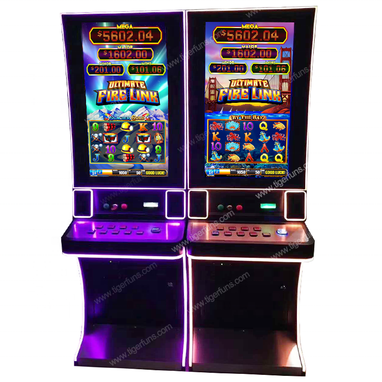 Newest vertical touch screen Ultimate Fire Link Jackpot video slot game machine with bill acceptor skill gambling machine