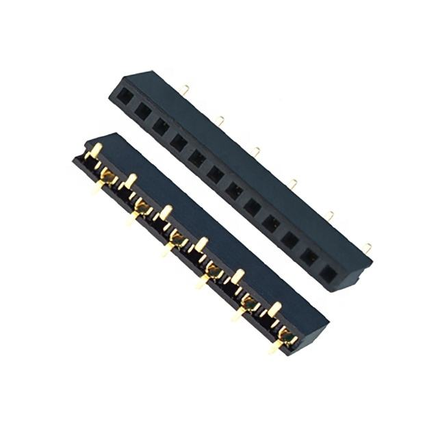pitch 2.0mm Female Header Height 4.0 SMT Single row PCB board to board connector smd