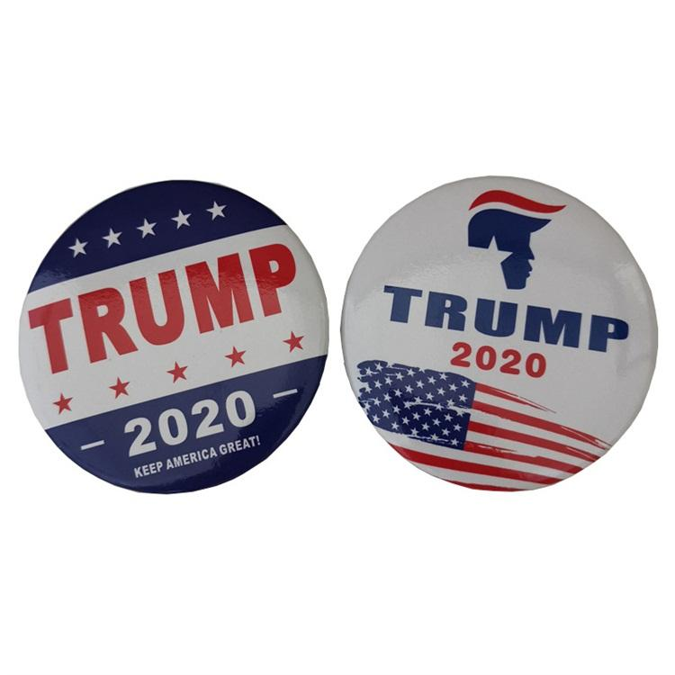 Male Female Universally 2020 Keep America Great Trump Pin Originality Iron Plastic Brooch