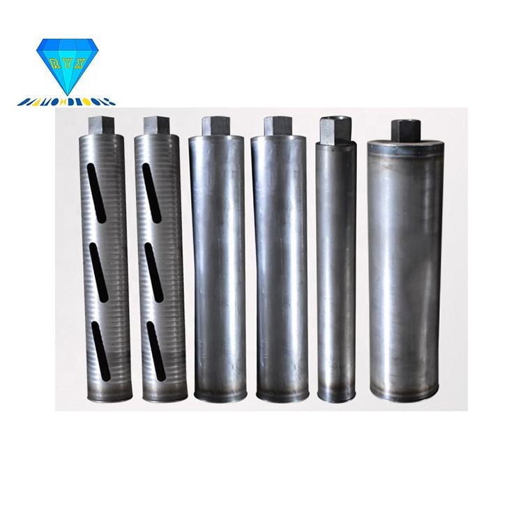custom top quality seamless steel tube core barrels for diamond drill bit with different thread connections